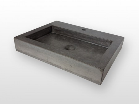 moderne wastafel van beton ForWastafel Rechthoekig