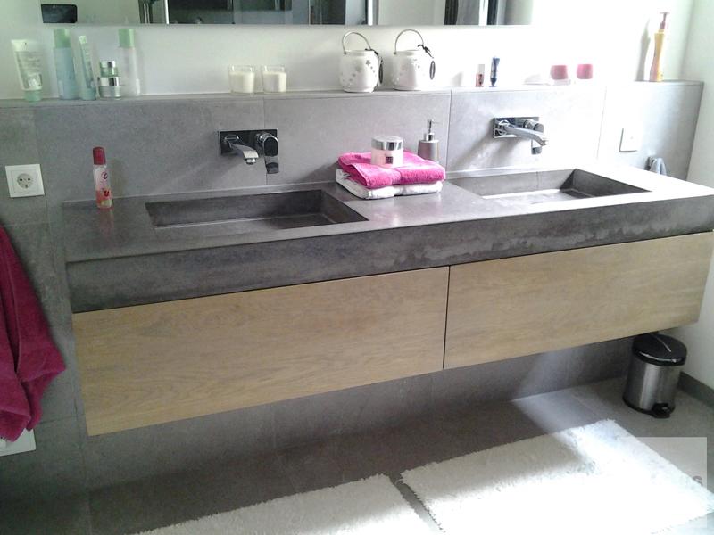 Wastafels van beton maatwerk  wastafelvanbetonnl # Wasbak Plank_131824