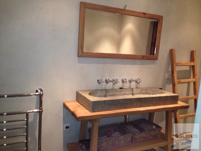 Wastafels van beton maatwerk - Wastafel rechthoekig badkamer ...